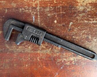 Vintage Antique Ford Motors Model A Adjustable Monkey Wrench 1920s