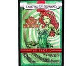 """Poison Ivy """"The Botanical Beauty"""" Batman Comic Criminals Iron-On Applique Patch"""