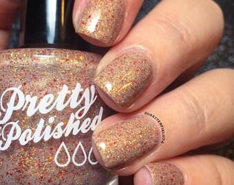 Debbie Darling Glitter Nail Polish
