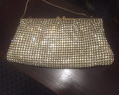 Antique bridal vintage wedding rhinestone evening bag purse hong kong free shipping sale