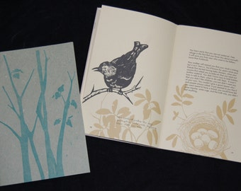 Migration: A Field Guide to Love... hand-sewn book
