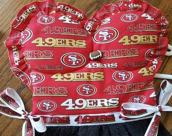 49ers Football San Fransisco Red Black Oven Door Kitchen Dish Towel Dress