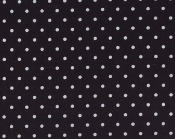 Shades of Black White Dots on Black SKU# 22167-32 - multiple cut options available