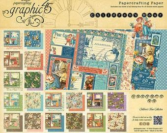 Graphic 45 Children's Hour 8x8 Paper Pad
