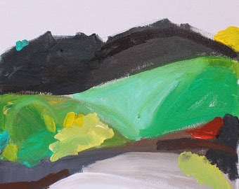 Contemporary Acrylic Landscape Painting