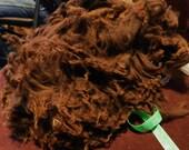 Raw Alpaca Blanket Teddy