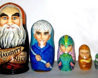 Rise Of the Guardians  nesting doll
