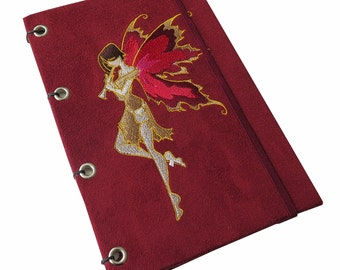 Crimson Faerie Sketchbook/Journal