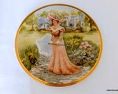 """Lady Sabrina """"My Fair Ladies"""" Signed Plate, Rusty Money, First in Series, Collect Plate"""