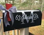 DECALS - Residential Mailbox Decals - Simple Design - 2 Sets