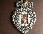 Sea-shell art inspired by French reliquary