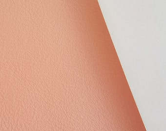 SALE 8x11 Blush Smooth Faux Leather Fabric Sheet