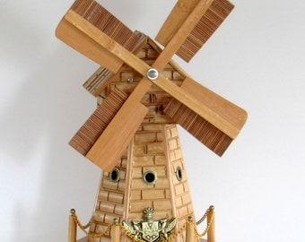 Windmill Music Box Bank
