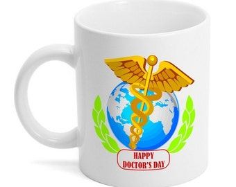 Customized Doctor's Day Ceramic Mug