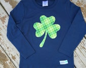 Limited Edition St. Patrick's Day Shamrock Boy's Shirt For Baby, Toddler, Youth