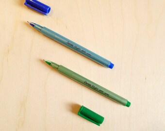 Stylo Pentel JM10 green or blue