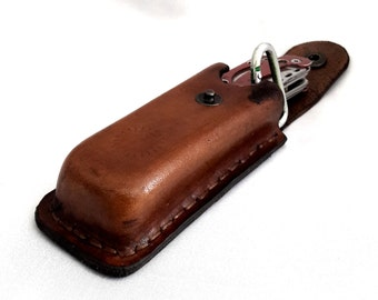 Handmade Leather Unique Stitched Knife Sheath