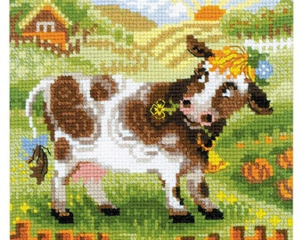 Cow - Counted Cross Stitch Kit