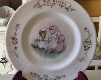 Royal Albert Bone China Beatrix Potter Plate