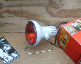 vintage Infra red heat lamp