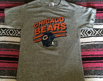 Vintage LOGO 7 Brand Chicago Bears Super Soft T-Shirt