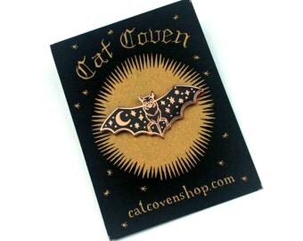 Creature of the Night - Copper Pin