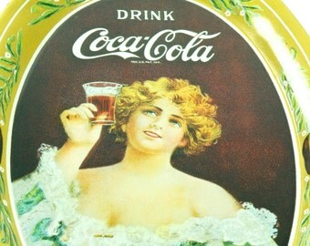 Vintage Coca-Cola Advertising Tip Tray