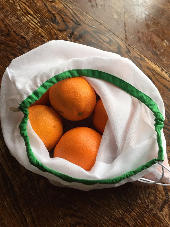 reusable produce bags farmers market bag eco friendly. Black Bedroom Furniture Sets. Home Design Ideas