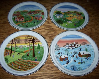 The Four Seasons by Villeroy & Boch, set of 4