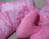 Mastectomy Pillows/A set of three/Comfort healing pillows/Breast cancer awareness/