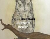 CUSTOM ORDER Oval Lamp Shade Errington by Sarah Richardson for Kravet in Sterling / Grey Gray Citrine Brown / Floral / Made to Order