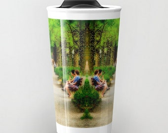 Travel Mug Coffee Mug Kenyon College Gambier Ohio Middle Path