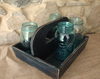 vintage wood box, old wood box, storage container, garden decor, Shabby cottage, country primitive, tote