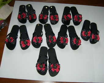 Flip Flops for Wedding Party