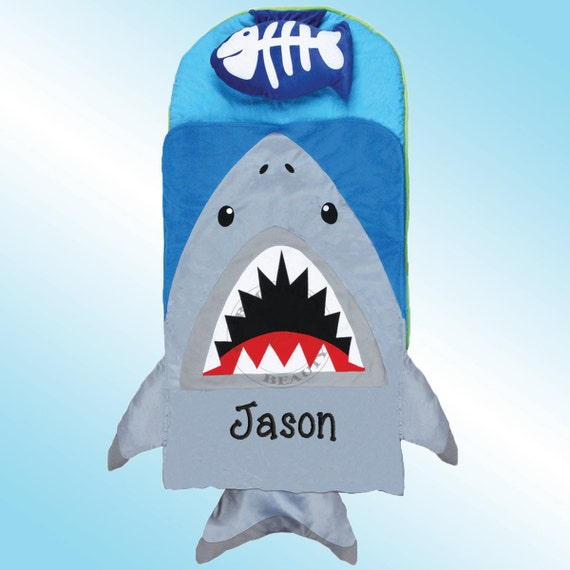 Nap Mat Personalized And Embroidered Shark