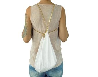 Backpack Bag TYVEK® gold Bucketbag