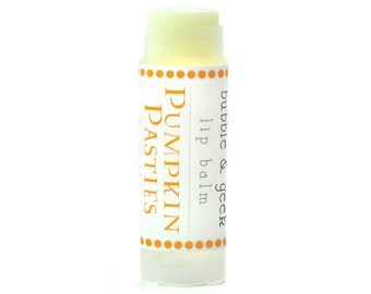Pumpkin Pasties Lip Balm  - pumpkin, cinnamon, sugar, pastries, pumpkin pie