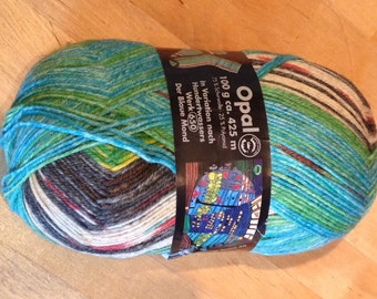 Sockwool opal from the series of Hundertwasser, color 1432