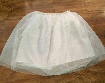 Sparkle tulle skirt-Girls size 4/5.