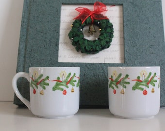 Unique - Christmas mugs by Arabia Finland