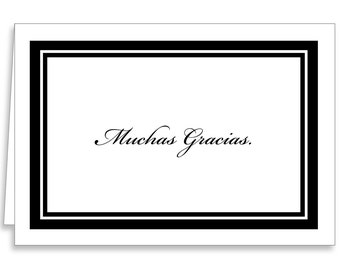 Muchas Gracias Thank You Cards by Guajolote Prints 12 Count