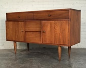 Mid-Century Danish Modern Credenza / Buffet / Dresser / TV Stand ~ Mad Men / Eames Era Decor *Shipping NOT Included*