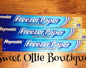 CLEARANCE*** SALE !!! Freezer Paper by the meter