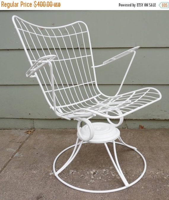 ON SALE Homecrest Eames Era Metal Wire Chair By