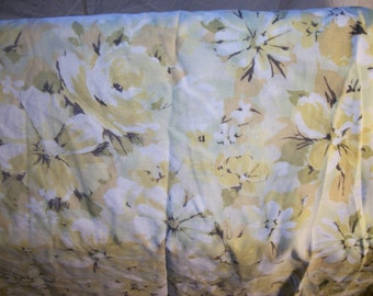 Floral Full Fitted Sheet
