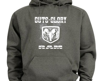 Dodge Ram hoodie dodge sweatshirt guts glory