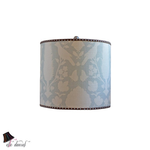 Bird Lamp Shades: Drum Lamp Shade With Bird Pattern Bird Decor Bird Home