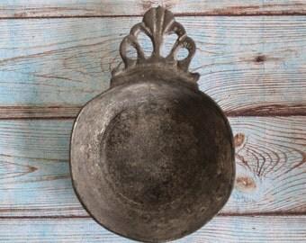 SALE 50 OFF Antique Pewter Porringer Bowl Engraved Home Decor Etain Fin 95% Small Porringer
