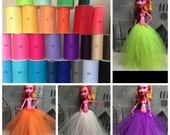 "Choose Your Color - 17"" Monster High Doll Tutu/Underskirt/Petticoat for your 17"" Monster High Girl Doll - Rainbow of Colors to choose from!"