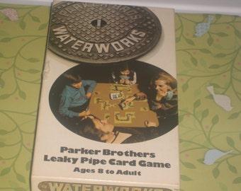 Vintage WATERWORKS CARD GAME